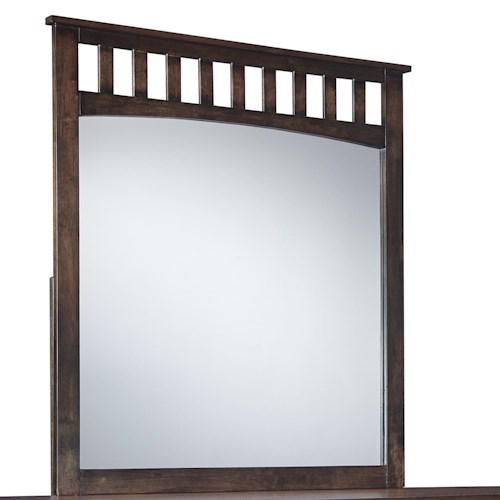 Signature Design by Ashley Strenton Bedroom Mirror with Wood Frame