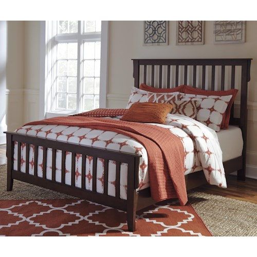 Signature Design by Ashley Strenton Queen Slat Bed