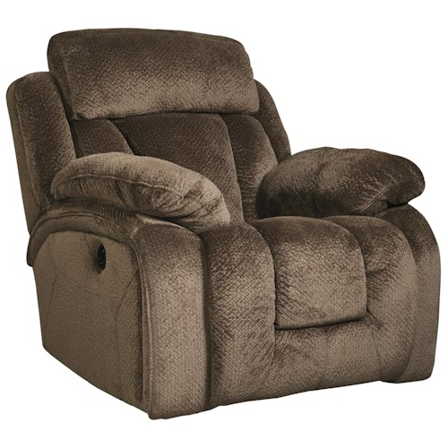 Signature Design by Ashley Stricklin Contemporary Rocker Recliner