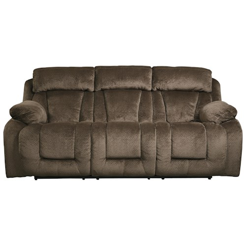 Signature Design by Ashley Stricklin Contemporary Reclining Power Sofa