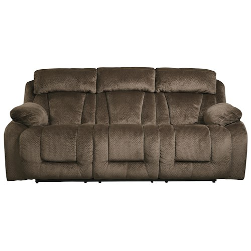 Signature Design by Ashley Stricklin Contemporary Reclining Sofa
