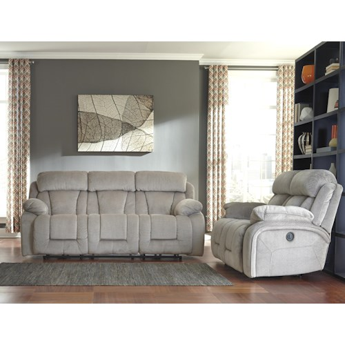 Signature Design by Ashley Stricklin Reclining Living Room Group