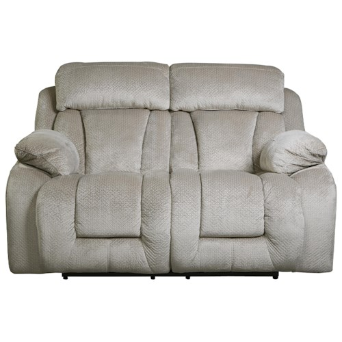 Signature Design by Ashley Stricklin Contemporary Reclining Power Loveseat