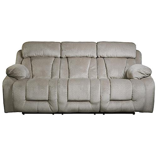 Signature Design by Ashley Stricklin Contemporary Reclining Power Sofa