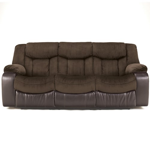 Signature Design by Ashley Tafton - Java Contemporary Reclining Sofa