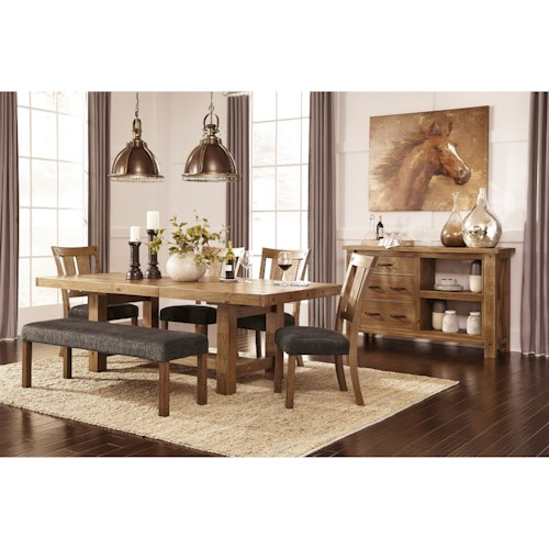 Signature Design by Ashley Tamilo Formal Dining Room Group
