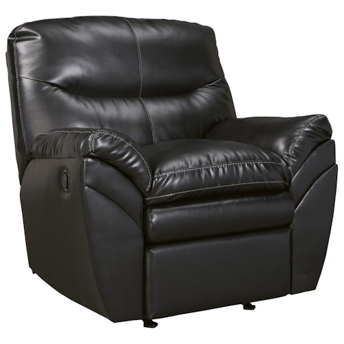 Signature Design by Ashley Tassler DuraBlend® Contemporary Rocker Recliner