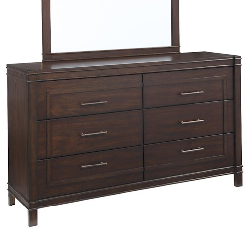 Signature Design by Ashley Timbol Dresser with Framed Drawer Fronts