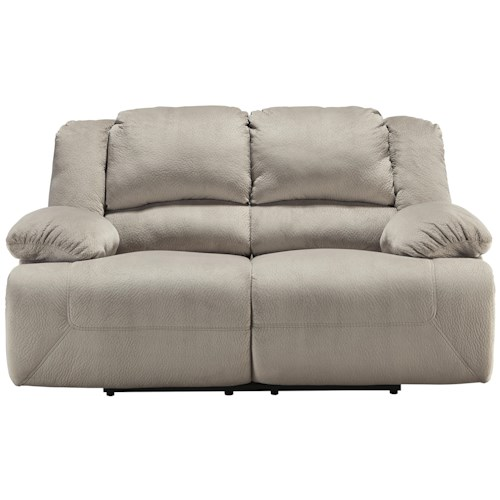 Signature Design by Ashley Toletta - Granite Casual Contemporary Reclining Loveseat