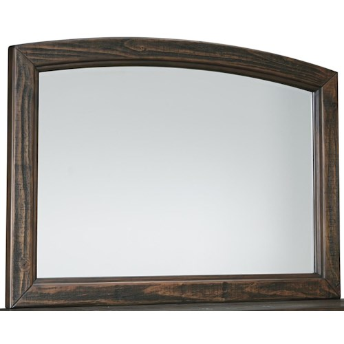 Signature Design by Ashley Trudell Bedroom Mirror with Solid Pinewood Frame