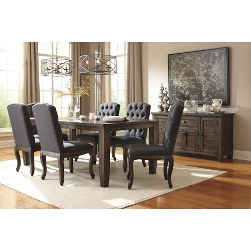 Signature Design by Ashley Trudell Casual Dining Room Group