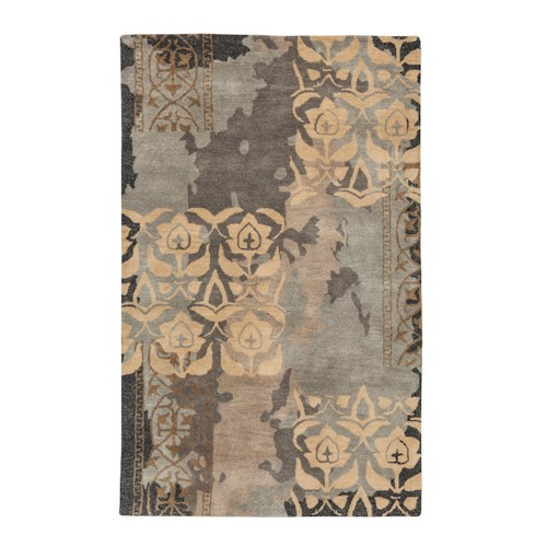 Signature Design by Ashley Casual Area Rugs Woven - Blue/Gray Large Rug