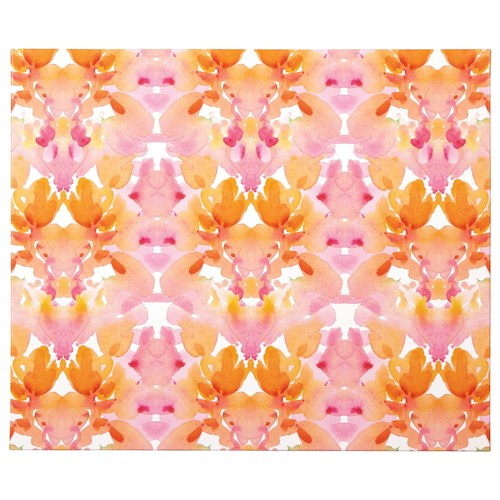 Signature Design by Ashley Wall Art Jachai Orange/Pink/White Wall Art