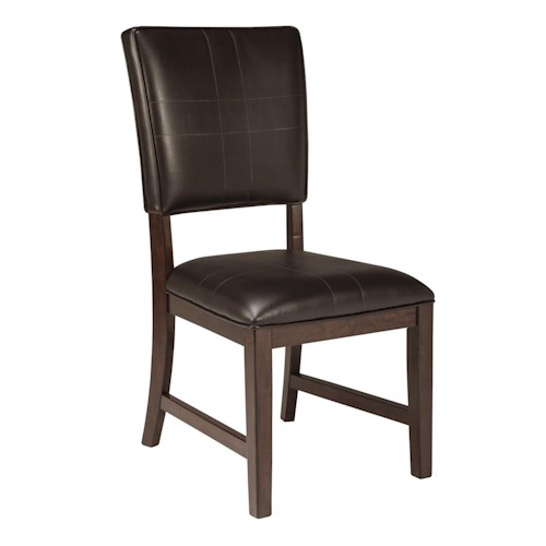 Signature Design by Ashley Watson  Dining Vinyl Upholstered Side Chair