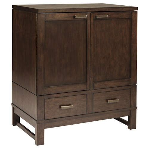 Signature Design by Ashley Watson  Dining Room Bar Server with 2 Drawers and 2 Doors