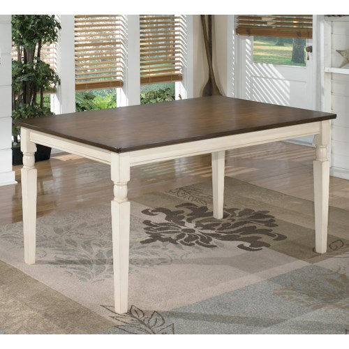 Signature Design by Ashley Whitesburg Rectangular Dining Room Table
