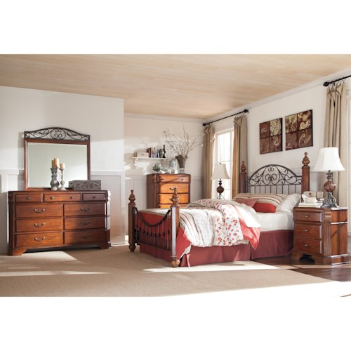 Signature Design by Ashley Wyatt California King Bedroom Group
