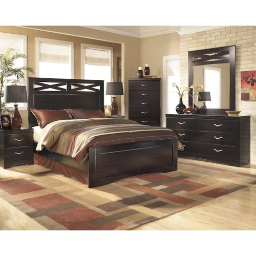 Signature Design by Ashley X-cess Queen Bedroom Group
