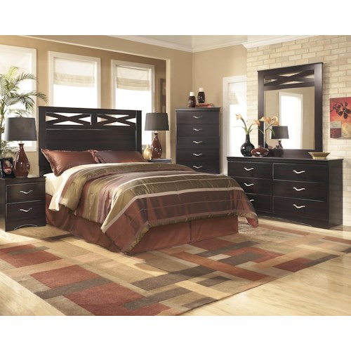 Signature Design by Ashley X-cess Full/Queen Bedroom Group