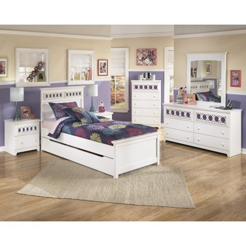 Signature Design by Ashley Zayley Twin Bedroom Group