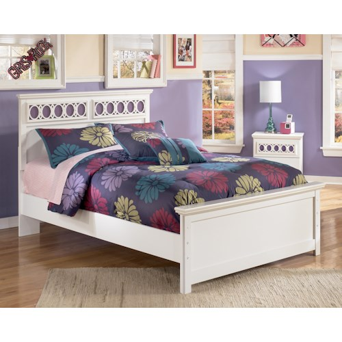 Signature Design by Ashley Zayley Full Panel Bed with Customizable Color Panels