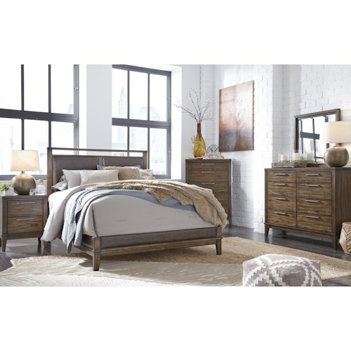 Signature Design by Ashley Zilmar King Bedroom Group