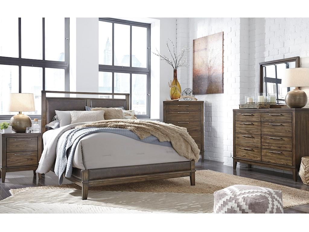 Queen Bed Shown