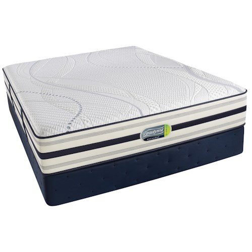 Beautyrest Beautyrest Recharge Hybrid - Altman Full Hybrid Luxury Firm Mattress and Foundation