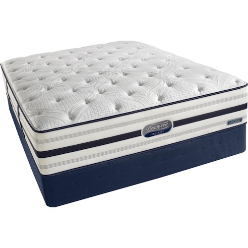 Beautyrest Beautyrest Recharge World Class Alexandria  King Luxury Firm Mattress and Foundation