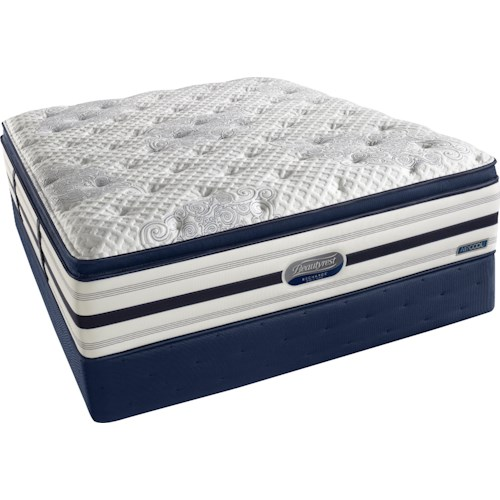 Beautyrest Beautyrest Recharge World Class Suri  Queen Ultra Plush Box Top Mattress and Foundation