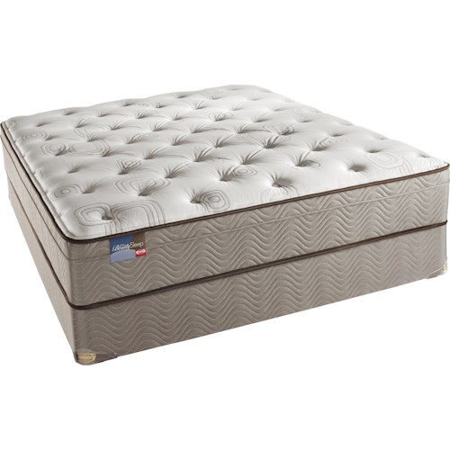 Simmons BeautySleep Adore Twin Euro Top Mattress and Box Spring