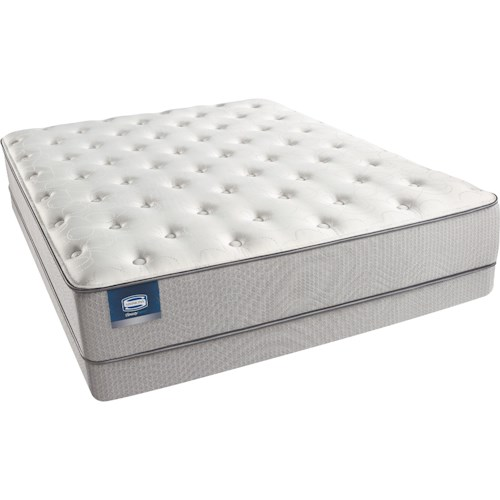 Simmons Beautysleep Andrea 2015 King Plush Mattress and Triton Lite Low Profile Foundation