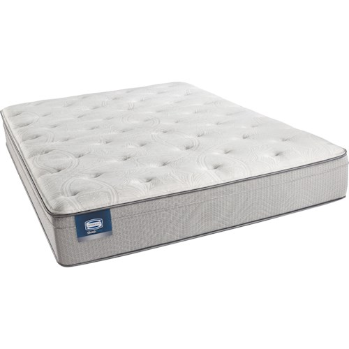 Simmons Beautysleep Caitlyn Cal King Plush Euro Top Mattress