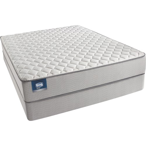 Simmons Beautysleep Caitlyn Cal King Firm Mattress and Triton-Lite Foundation