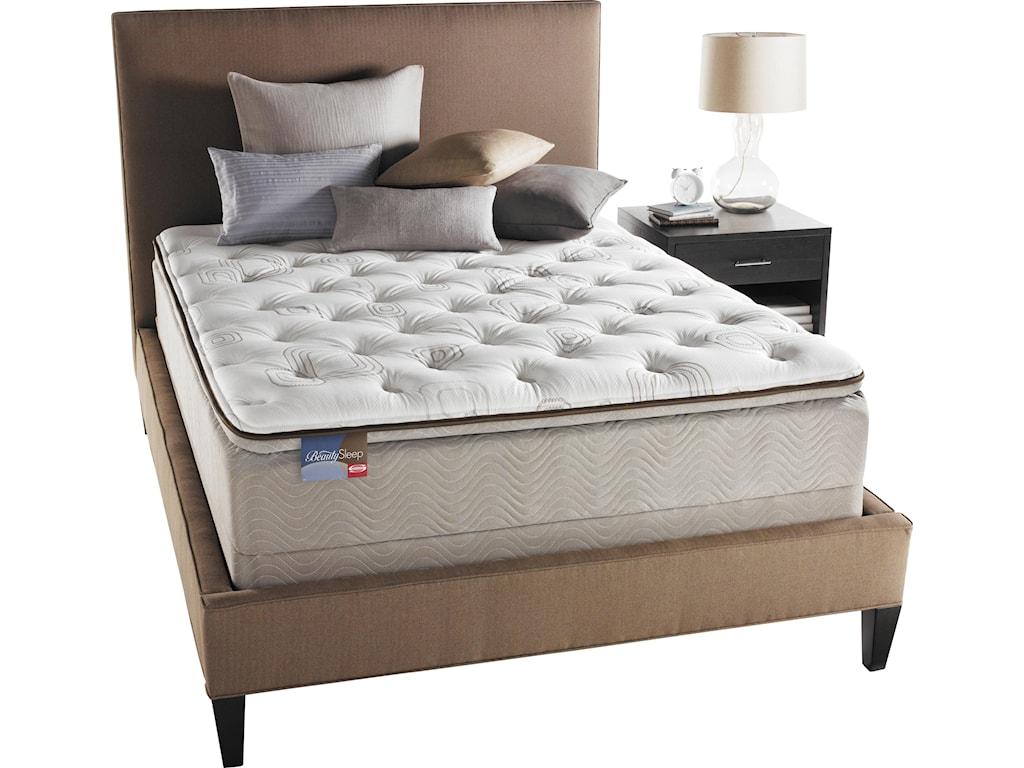 Simmons Bedroom Furniture Simmons Beautysleep Cherish Queen Pillow Top Mattress Furniture