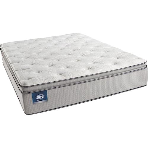 Simmons Beautysleep Erica Twin Plush Pillow Top Mattress