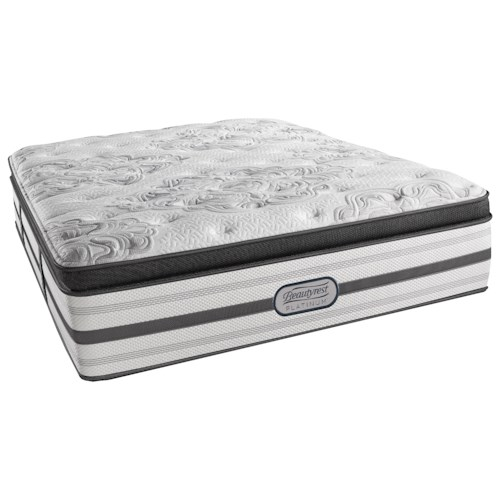 Beautyrest BR Platinum Katherine Cal King Luxury Firm Box Top 16 1/2