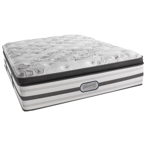 Beautyrest BR Platinum Katherine Twin Extra Long Plush Box Top 16 1/2
