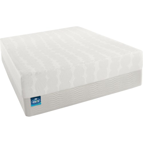 Beautyrest Curv Vogue  King Firm Memory Foam Mattress