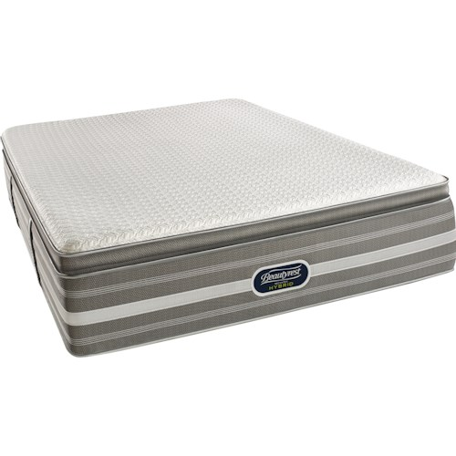 Simmons Recharge Hybrid Level 5 Ryleigh Cal King Ultimate Luxury Pillow Top Hybrid Mattress
