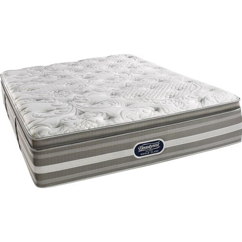 Simmons World Class Level 2 Jaelyn Twin Plush Pillow Top Mattress