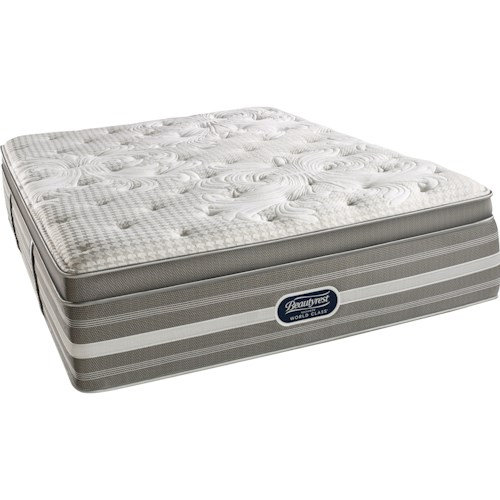 Simmons World Class Level 5 Jessica Cal King Plush Pillow Top Mattress