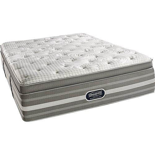 Simmons World Class Level 5 Jessica Twin Plush Pillow Top Mattress