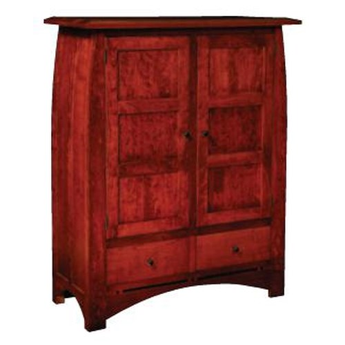 Simply Amish Aspen Cabinet with Wood Doors