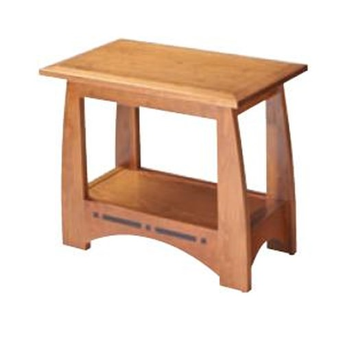 Simply Amish Aspen Chair Side Table