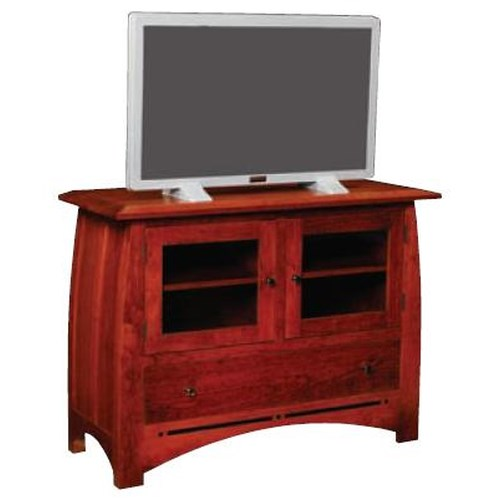 Simply Amish Aspen Small TV Stand