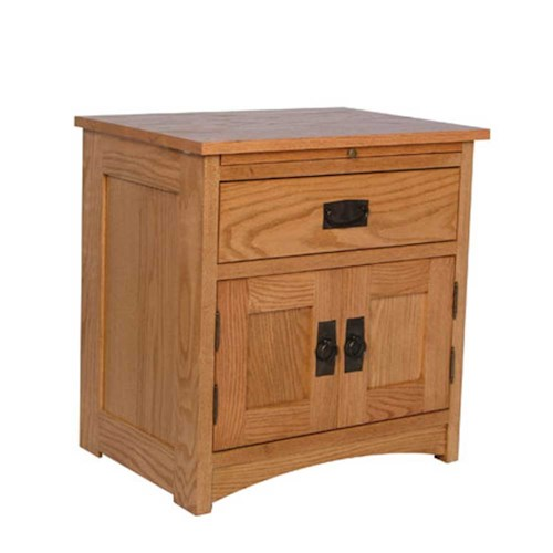 Simply Amish Prairie Mission Prairie Mission Deluxe Nightstand