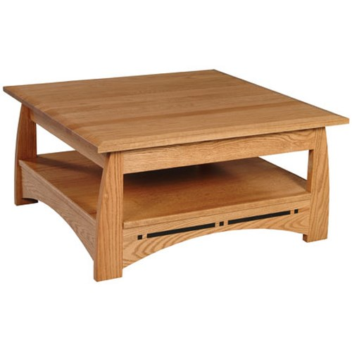 Simply Amish Aspen Square Coffee Table
