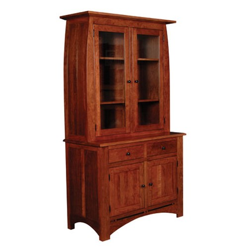 Simply Amish Aspen Two Door China Cabinet
