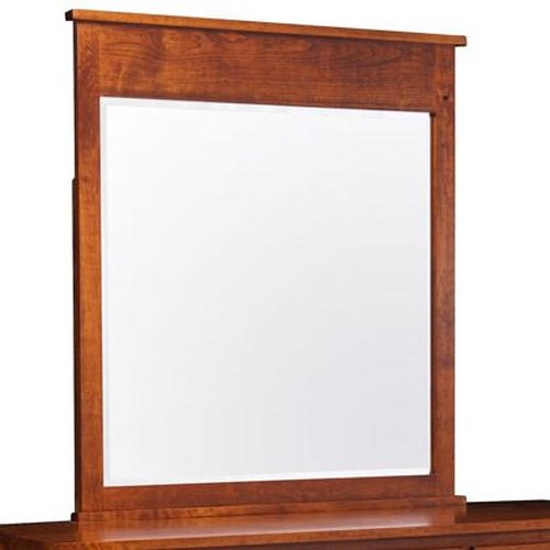 Simply Amish Express Shenandoah Dresser Mirror w/ Bevel